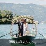 EMMA & ADAM LAKE COMO WEDDING