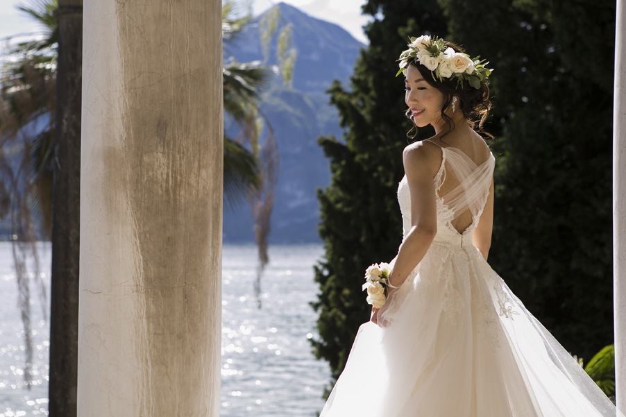 Bride-during-photoshoot-at-Italian-villa-on-Lake-Como-arranged-by-My-Lake-Como-Wedding
