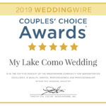 2019 WEDDINGWIRE AWARD RECEIVED