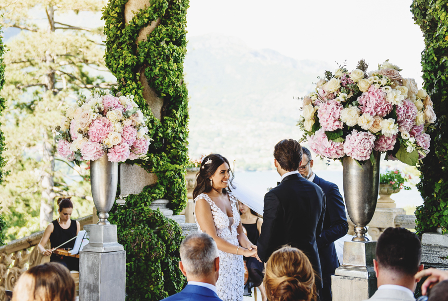 Bride-and-groom-marry-at-Villa-Balbianello-terrace-on-Lake-Como-by-My-Lake-Como-Wedding