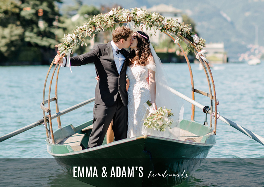 Bride-and-groom-on-Lucia-row-boat-on-Lake-Como-in-Italy-for-wedding-day-for-blog