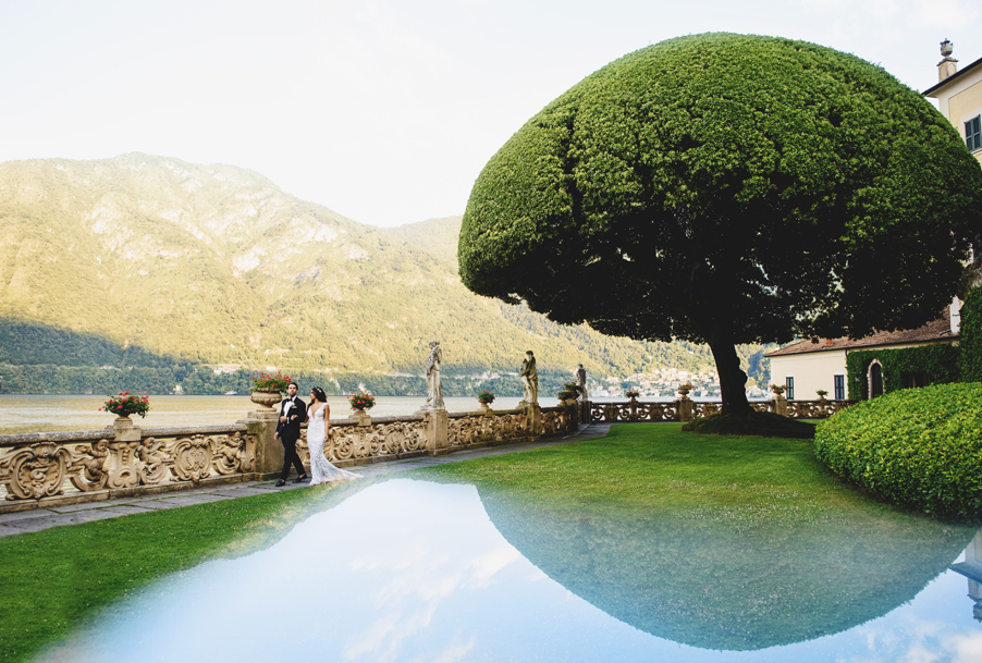 Bride-and-groom-wedding-day-photoshoot-at-Villa-Balbienello-planned-by-My-Lake-Como-Wedding