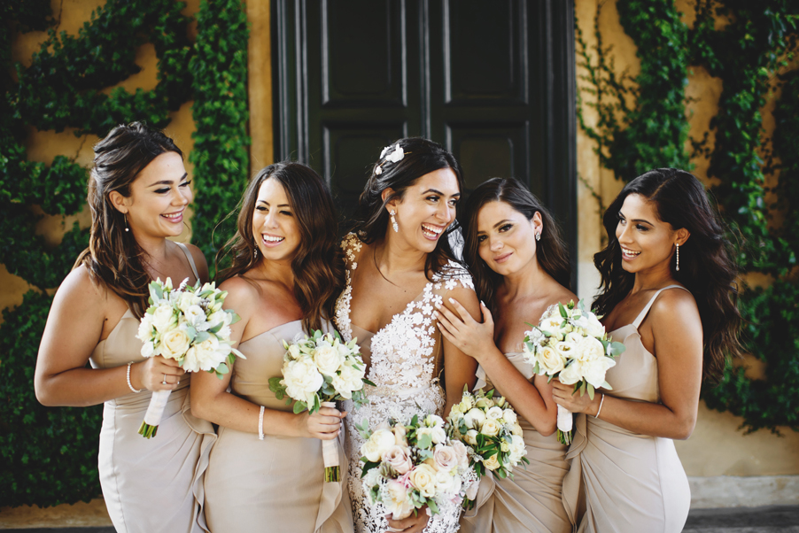 Bridesmaids-photo-on-wedding-day-by-Ross-Harvey-and-My-Lake-Como-Wedding-wedding-planner