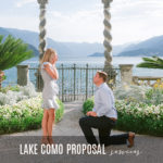 PROPOSE ON LAKE COMO