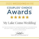 2020 WEDDINGWIRE AWARD RECEIVED