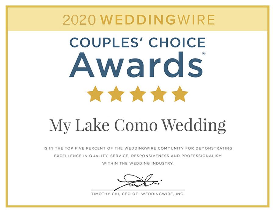 Weddingwire-couples-choice-award-2020-Wedding-planner-Gemma-Aurelius-from-My-Lake-Como-Wedding