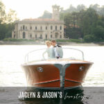 JACLYN & JASON'S LAKE COMO WEDDING