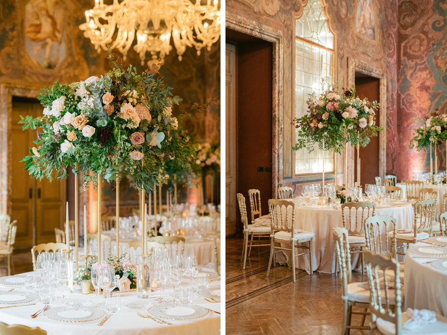 Dinner-set-up-for-a-wedding-at-Villa-Erba-by-wedding-planner-My-Lake-Como-Wedding