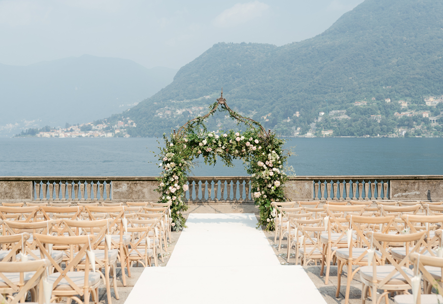 Ceremony-terrace-all-decorated-at-Villa-Pizzo-on-Lake-Como
