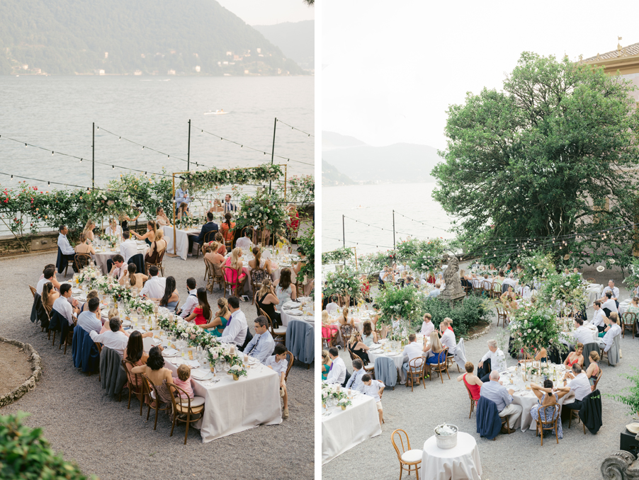 Dining-terrace-at-Villa-Pizzo-on-Lake-Como-with-lighting-and-decoration