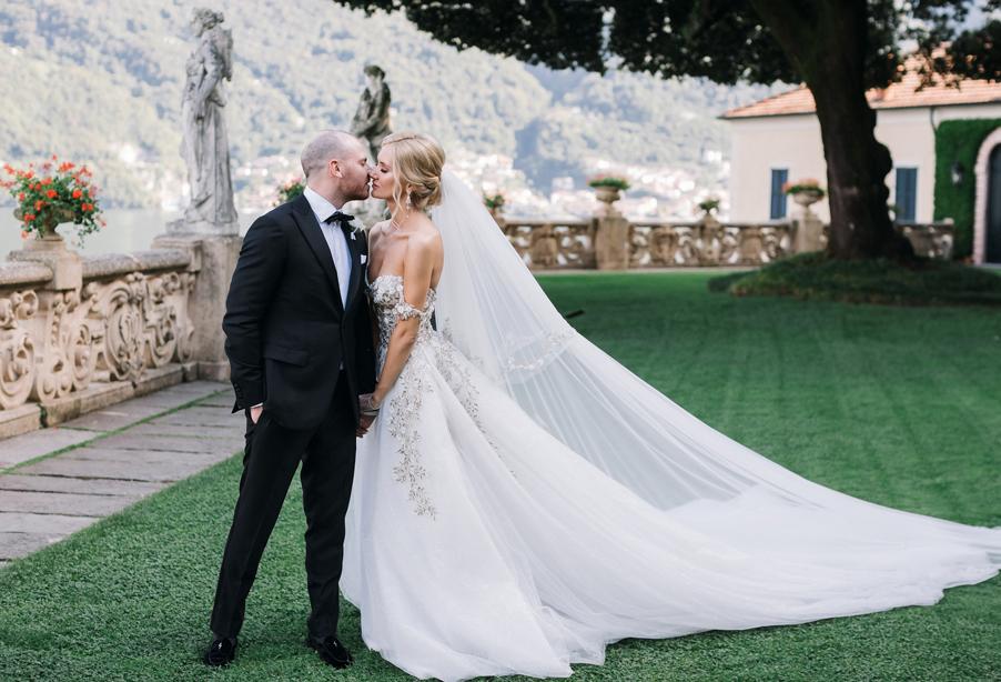Bride-and-groom-at-Villa-Balbianello-Lake-Como-wedding