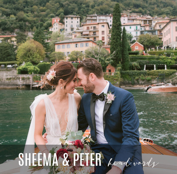 Bride-and-groom-on-speedboat-at-Villa-Teodolinda-on-Lake-Como-for-review